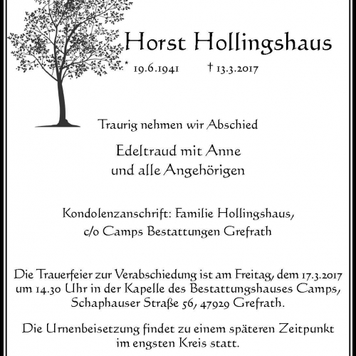 Horst Hollingshaus