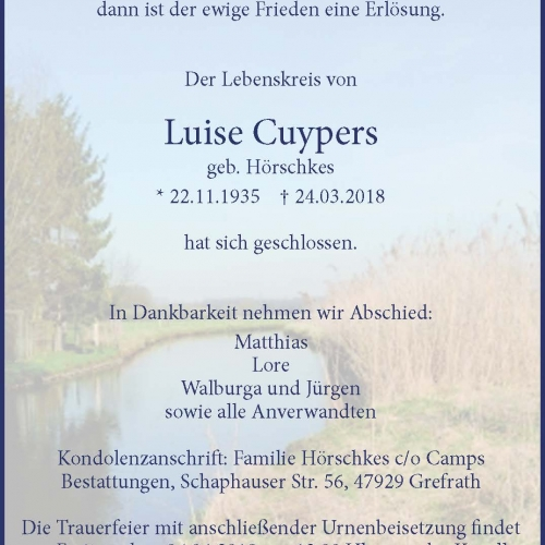 Luise Cuypers