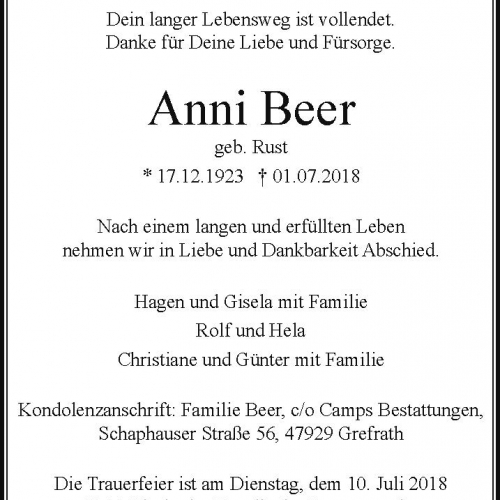 Anni Beer