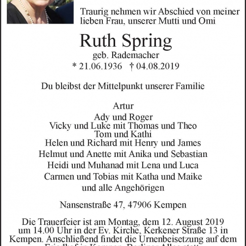 Ruth Spring